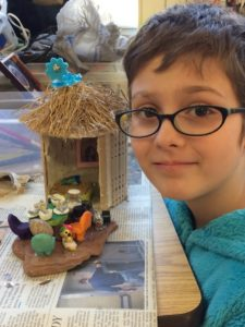 Faerie village and ancient civilizations at CELC Middle School