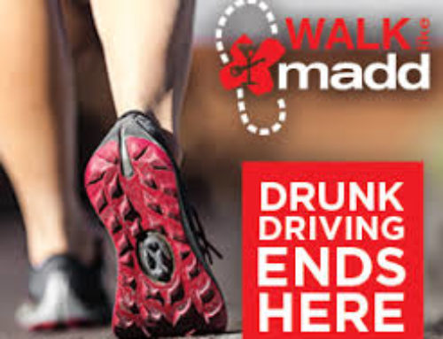 Join Our Team CELCstars and Walk like MADD  Saturday, 14 OCT 2017