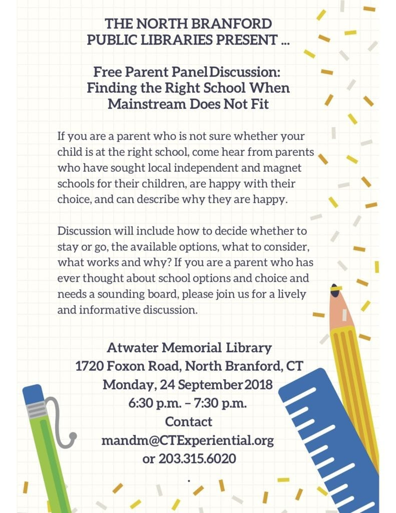 Free parent panel Atwater